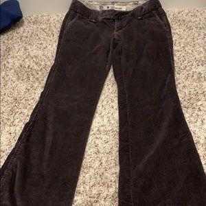 Gap Long and Lean Corduroy pants